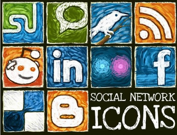 Hongkiat Exclusive: Social Network Icon Set