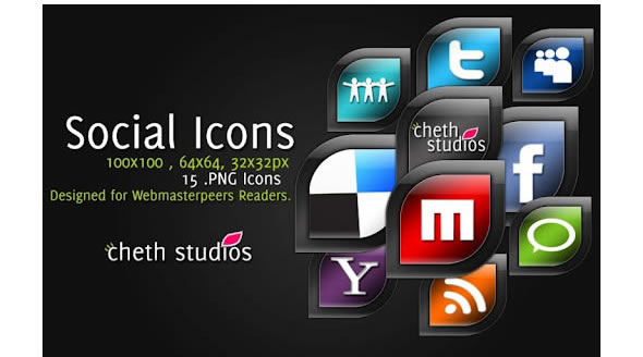 CS Social Icons – Elegancy speaks!