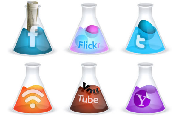 Free Scientific Creative Social Media Icons
