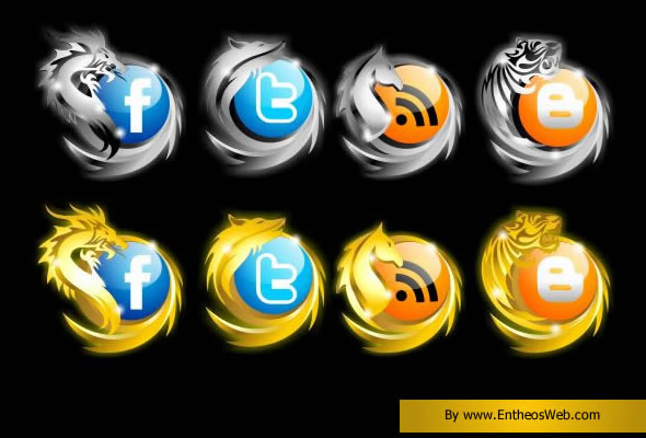 Awesome Social Networking Icons
