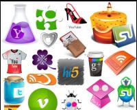 115 Creative and Unique Social Media Icon Sets