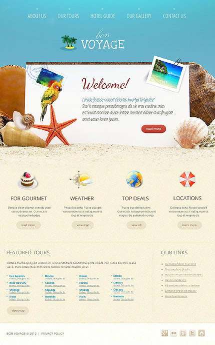 Voyage Travel WordPress Theme