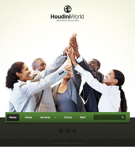 Houdini World WordPress Theme