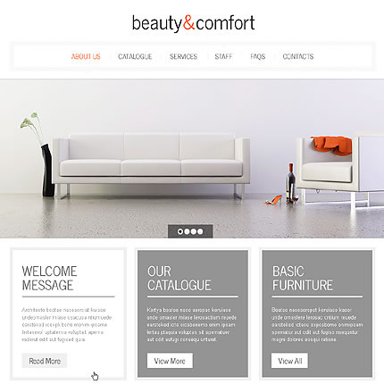 Beauty Comfort WordPress Theme