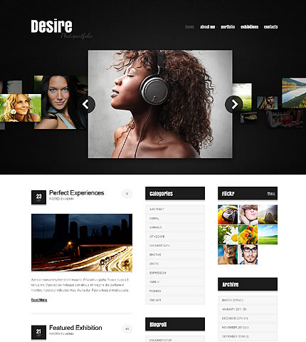 Desire Photo WordPress Theme