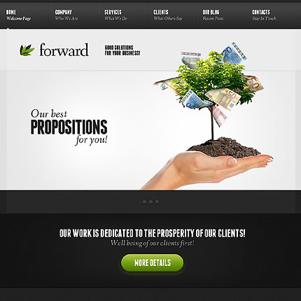 Forward Company WordPress Theme