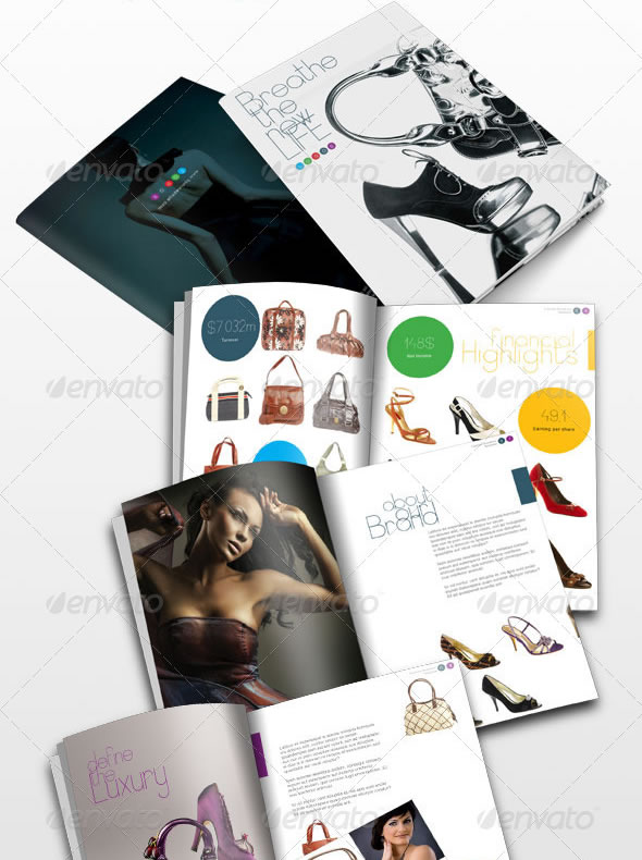 24 Pages Fashion Magazine / Catalogue