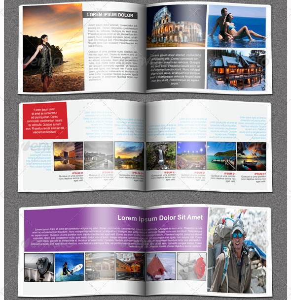 Traveller Booklet/Catalogue Template