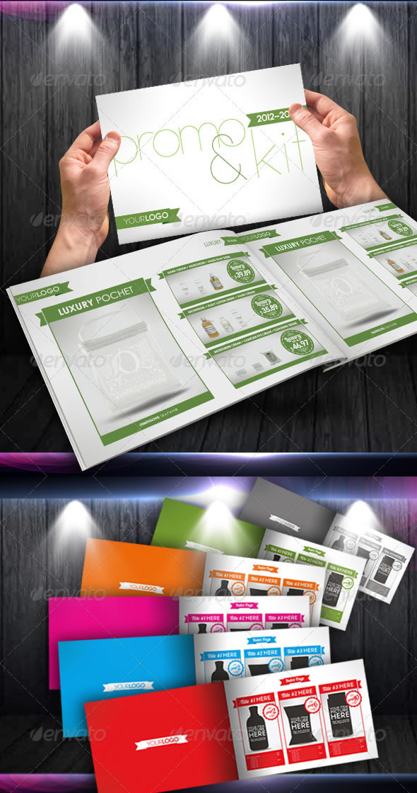 Products/Items Catalogue - Marketing Brochure