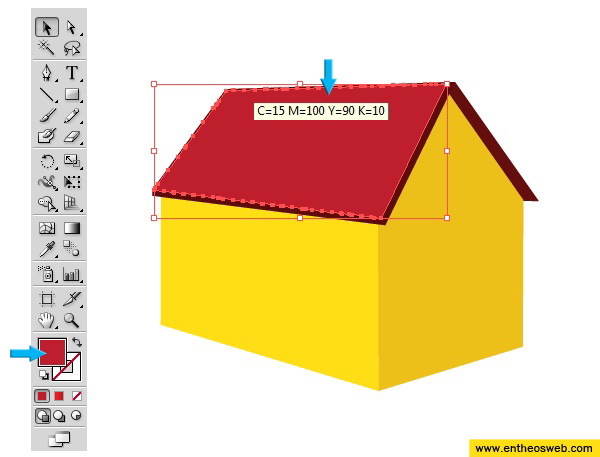 3D House Vector Screenshot