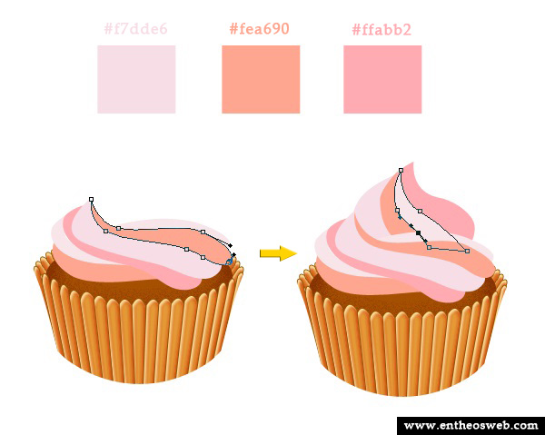 Delicious Cupcake in Photoshop