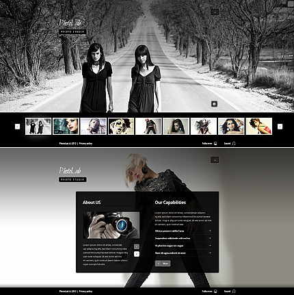 Photo Lab Flash Photo Gallery Template