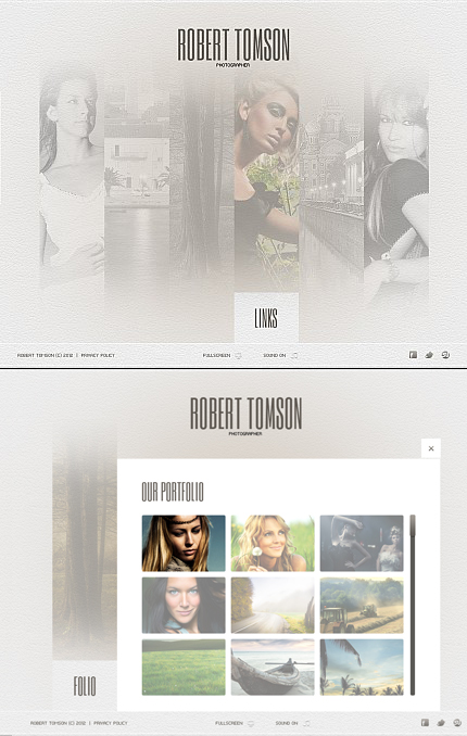 Robert Tomson Flash Photo Gallery Template