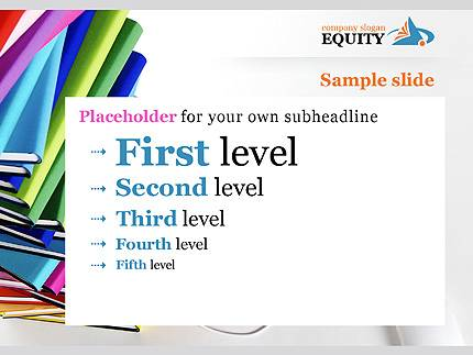 Equity Business PowerPoint Template