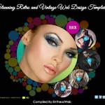 Stunning Retro and Vintage Web Design Templates