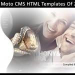 best 2012 moto cms html templates