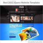 Best 2012 jQuery Website Templates
