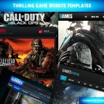 Thrilling Game Website Templates