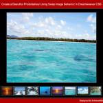 Create a Beautiful PhotoGallery Using Swap Image Behavior in Dreamweaver CS6