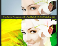 Transform a Photograph with a Paint Splash Effect in Photoshop CS6