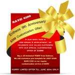 entheos 9th anniversary customization offer