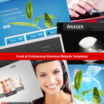 fresh and professional business website templates