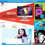 Amazing Software Website Templates