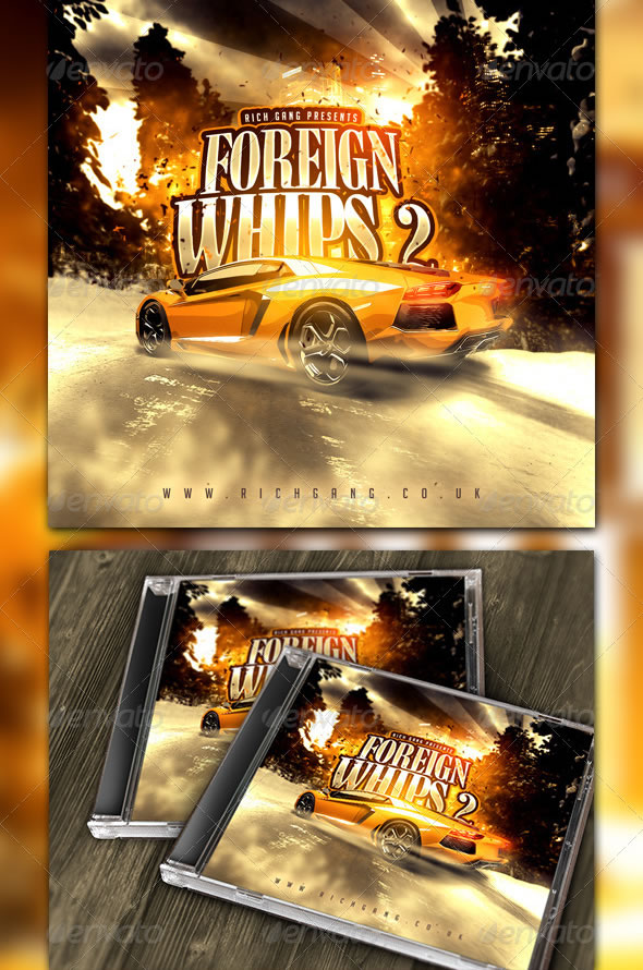 hip hop album cover templates