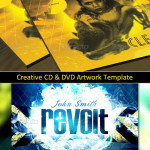 Creative CD & DVD Artwork Template