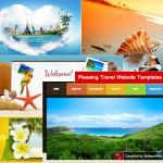 Pleasing Travel Website Templates