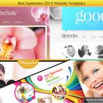 sept 2013 website templates