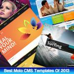 best moto cms templates 2013