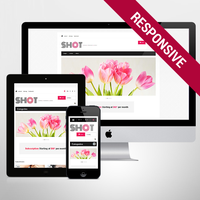Template 47317 - Shot Photo Responsive PrestaShop Theme