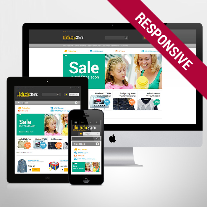 Template 47551 - Whole Sale Responsive PrestaShop Theme