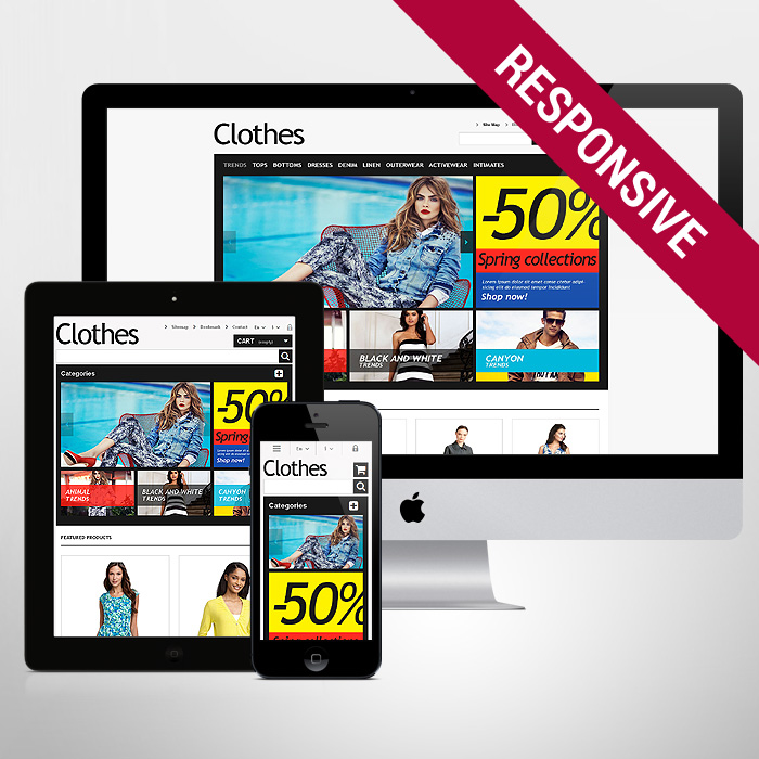 Template 47632 - Clothes Online Responsive PrestaShop Theme
