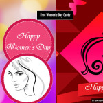 free womens day cards