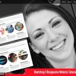 Bootstrap 3 Responsive Website Tutorial