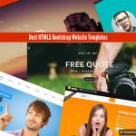 Best HTML5 Bootstrap Website Templates