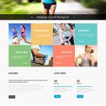 Running Club Responsive Website Template