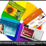 Color Palettes in Web Design – Monochromatic Themes