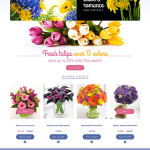Template 52090 - Flower Online Responsive Shopify Theme with Product Slideshows, Hover Effects and Blog