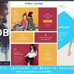 Eye Catchers in Website Design