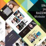 SNAZZY JAZZY RAZZMATAZZY Website Templates
