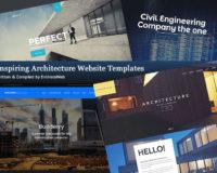 Inspiring Architecture Website Templates