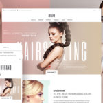 Template 58991 - Durand - Beauty & Hair Salon WordPress Theme