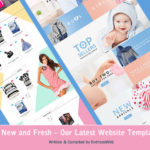 New and Fresh - Our Latest Website Templates