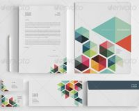 Colorful Stationer Design Templates