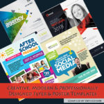 Creative, Modern & Professionally Designed Flyer & Poster Templates