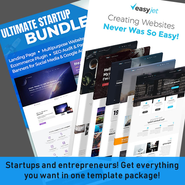 Startup Template Packages