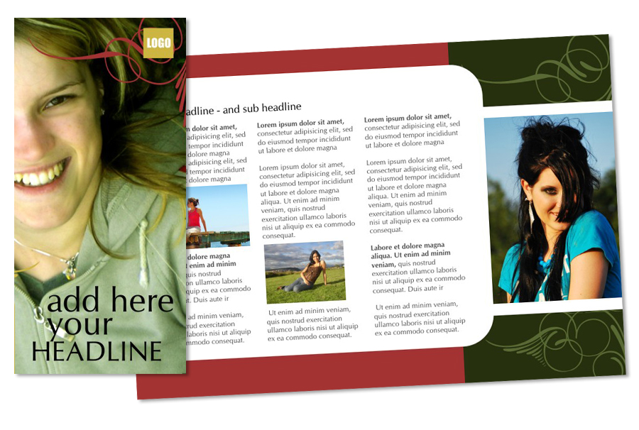 Free Fashion/Lifestyle Brochure Download